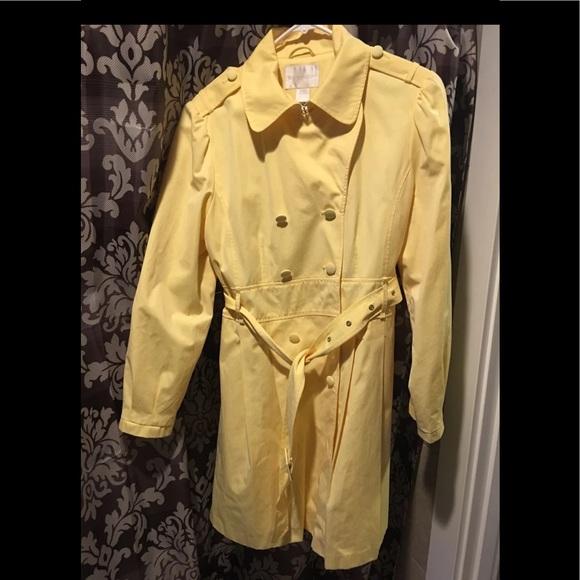 Worthington Jackets & Blazers - New yellow trench
